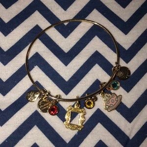Alex and Ani FRIENDS frame and coffee mug bracelet